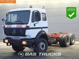 chassis cab truck Mercedes-Benz 2631 6X4 Manual Big-Axle Steelsuspension Euro 2 1997