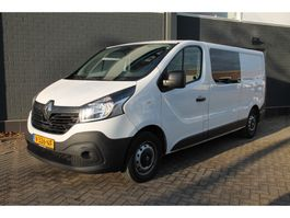 closed lcv Renault Trafic 1.6 dCi T29 L2H1 Dubbele Cabine - Airco - Cruise - Trekhaak - € 1... 2018