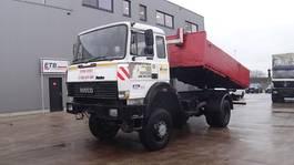 tipper truck > 7.5 t Iveco Turbostar 190 - 30 (6 CYLINDRE EN LIGNE / WATER COOLING / 4X4 / SUSP. LAMES) 1991