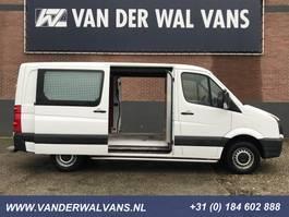 closed lcv Volkswagen Crafter 35 2.0TDI 164pk L2H1 2x-Schuifdeur | Airco 3500kg-Trekhaak Cruise 2013