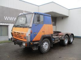 cab over engine Steyr 1491 , Manual , 6x4 , PTO/Tip hydraulic , Spring Suspension 1988
