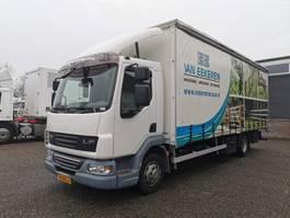 sliding curtain truck DAF LF 45 -220 4x2 Euro4 SchuifzeilenBak 7.15m - Schuifdak - 03/2021 APK 2007