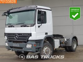 cab over engine Mercedes-Benz Actros 2044 4X4 4x4 Hydraulik 3-pedals Big-Axle Euro 5 2006