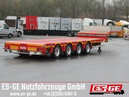 lowloader semi trailer Nooteboom 4-Achs-Satteltieflader - teleskopierbar 2014