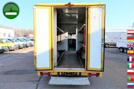 closed box truck Iveco Daily 35 S11 AUTOMATIK KAMERA LUFT 2010
