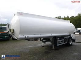 Tankauflieger Indox Fuel tank alu 23.8 m3 / 4 comp + pump 2010