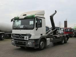 Container-LKW Mercedes-Benz Actros 2541 L6x2 Abrollkipper Meiller RK 20.70 2009