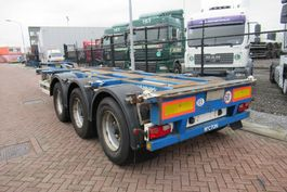 container chassis semi trailer Pacton Container Chassis / ADR / BPW + Drum / 3x Extendable 2008