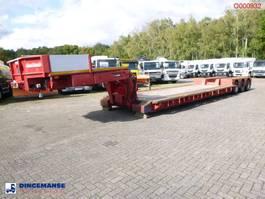 lowloader semi trailer Nooteboom 3-axle lowbed trailer EURO-60-03 / 77 t 2003