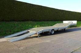 semi lowloader semi trailer Veldhuizen 5,0-tons Semi-dieplader oplegger 2019