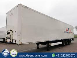 closed box semi trailer Krone SKD 27 2004