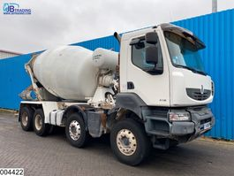 concrete mixer truck Renault Kerax 410 Dxi 8x4, Manual, Stetter, Steel suspension, euro 4 2008
