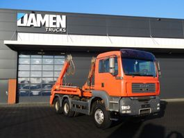 container truck MAN TGA 26.440 6x4 BB Euro 4 2007