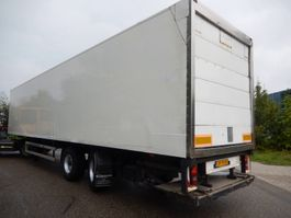 closed box semi trailer DRACO TZA 232 2 As Oplegger Gesloten, OF-75-HS 1997