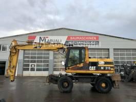 wheeled excavator Caterpillar M315 **BJ 2002 * 10000H* Alleleitungen 2002