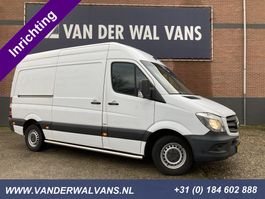 closed lcv Mercedes-Benz Sprinter 310CDI BlueTEC 366 L2H2 Airco, Camera, inrichting, 2015
