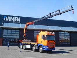 crane truck Scania G 440 8x4 PK 74002 HPLS 2010