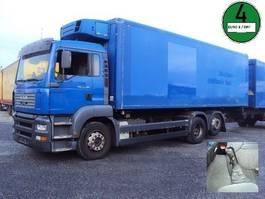 refrigerated truck MAN TGA 26.360 Schalter 6x2 Carrier  Diesel 2003