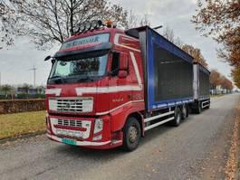 sliding curtain truck Volvo FH460 6x2  Combi Schuifzeilen Hefdak Kippentransport Liftas en Stuuras Euro 5 2013