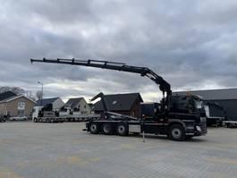 crane truck DAF CF 410 FAQ kraan/haak HIAB 232 X-Hipro EP-6, Multilift haakarm 2018