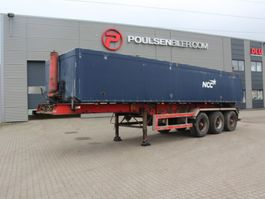 tipper semi trailer Kel-Berg 3-axle tiptrailer with alu-body