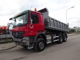 tipper truck > 7.5 t Mercedes-Benz ACTROS 3341 6X6 KIPPER / BLAD / TUV / EPS 3 PEDALS / LOW KM !! 2008