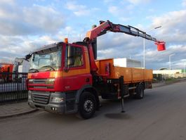 drop side truck DAF 85 CF 360 + PALFINGER PK 23000 / MAN KORF / REMOTE CONTROL / LOW KM !! 2007