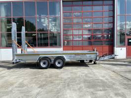 lowloader semi trailer Möslein TT 11-E 5,50 - 2  Tandemtieflader5,50 m x 2 m, Feuerverzinkt 2021