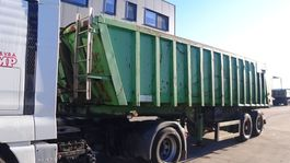 tipper semi trailer MOL K85F/20T/37ST (8 TIRES / BELGIAN TRAILER / CHASSIS AND CABIN STEEL / 37 m³) 2010