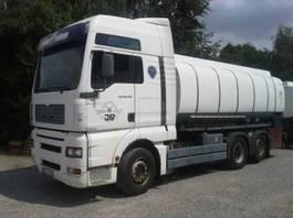 tank truck MAN TANK TGA 26.480 16.500L Fuel Manual Pomp Meter 2004