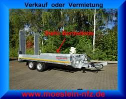 lowloader semi trailer Möslein TTT 11 Verzinkt  neuer Tandemtieflader, Verzinkt 2021