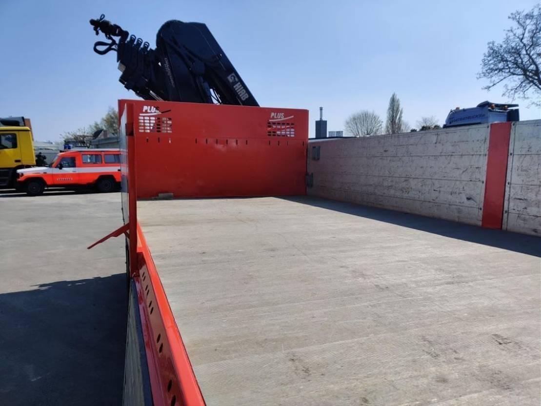 Pritsche offen LKW Scania P380 Tridem LB8X4*4 Airride + Hiab 288 EP5 XS 2008