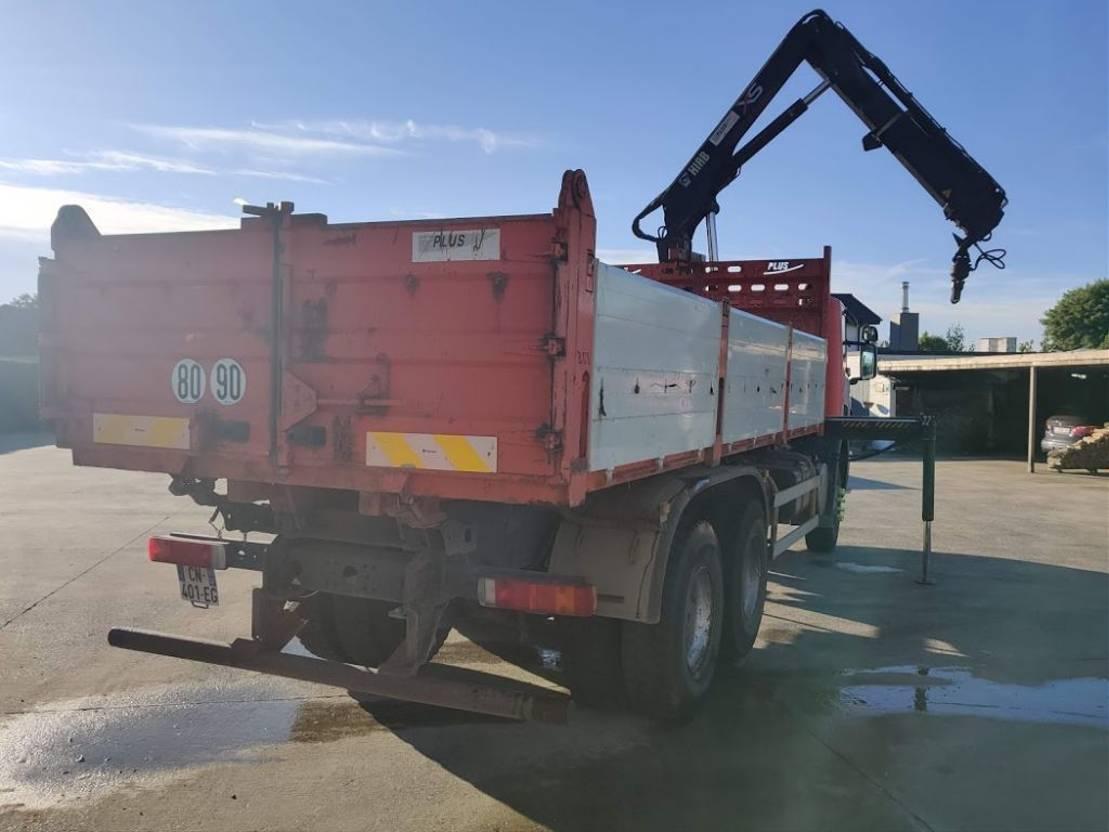 LKW Kipper > 7.5 t Scania P 380 CB 6X4 HHZ + HIAB 144 B3 + KIPPER 2009