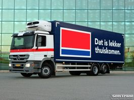 refrigerated truck Mercedes-Benz ACTROS 2532 6x2 THERMO KING T1000 R  TAIL LIFT  TOP CONDITION HOLLAND TRUCK 2012