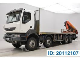 platform truck Renault Kerax 450 DXi - 8x4 2009