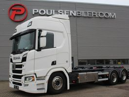 container truck Scania R520 NEW HOOKLIFT 2017