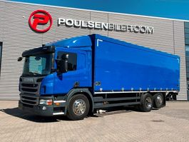 closed box truck Scania P280 Multibox with Lift 2013
