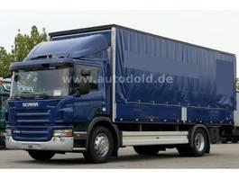 tilt truck Scania P280 Euro 5 Pritsche Plane Bordwände LBW 2000kg 2009