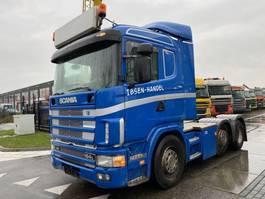 cab over engine Scania 164L 480 V8 6X2 MANUAL EURO 3 + KIEPHYDRAULIEK 2001