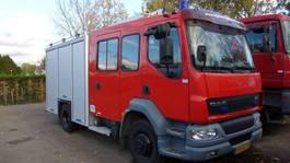 fire truck DAF 55-220 godiva pump bomeros firetruck 2003