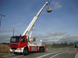 mounted boom lift truck DAF 75-310 hilton 23 meter 2003