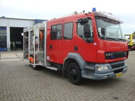 fire truck DAF 55-220 BOMBEROS  HOLMATRO SET 2003