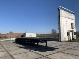 flatbed semi trailer Schmitz Cargobull sko 2007