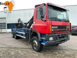 chassis cab truck DAF 85 ATI 360 6x4 /Crane 1996