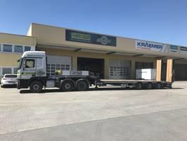 semi lowloader semi trailer Faymonville 3-Achs-Semi mit hydraul. Ladebett und hydraul. Rampen