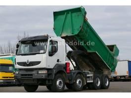 tipper truck > 7.5 t Renault 480 DXi Kerax 8x4 Kipper Retarder Kamera Euro 5 2013