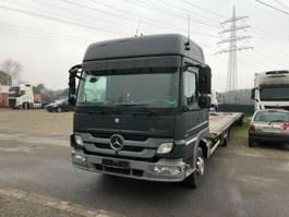 car transporter truck Mercedes-Benz Atego II 918L , Autotransporter + FVG Anhänger