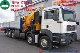 crane truck MAN TGA 41.480 Effer 1750 6S 175T/M Winde 8T 60mSeil 2007