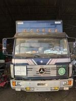tank truck Mercedes-Benz Mercedes chassis 1317 with removable tank 1997