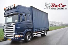 sliding curtain truck Scania R420 TL 4X2HNB - RETARDER - EURO 3 - AIR SUSPENSION ON FRONT AXLE - 2006